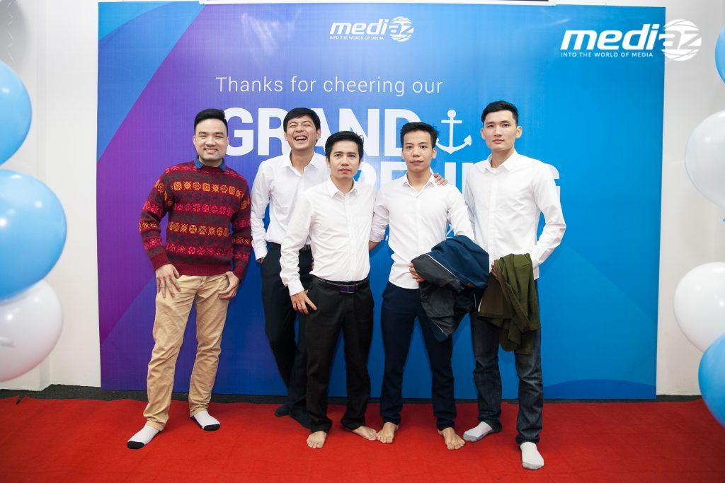 Photo 18/01/2017 - MediaZ khai trương Văn Phòng mới tại Hà Nội 3