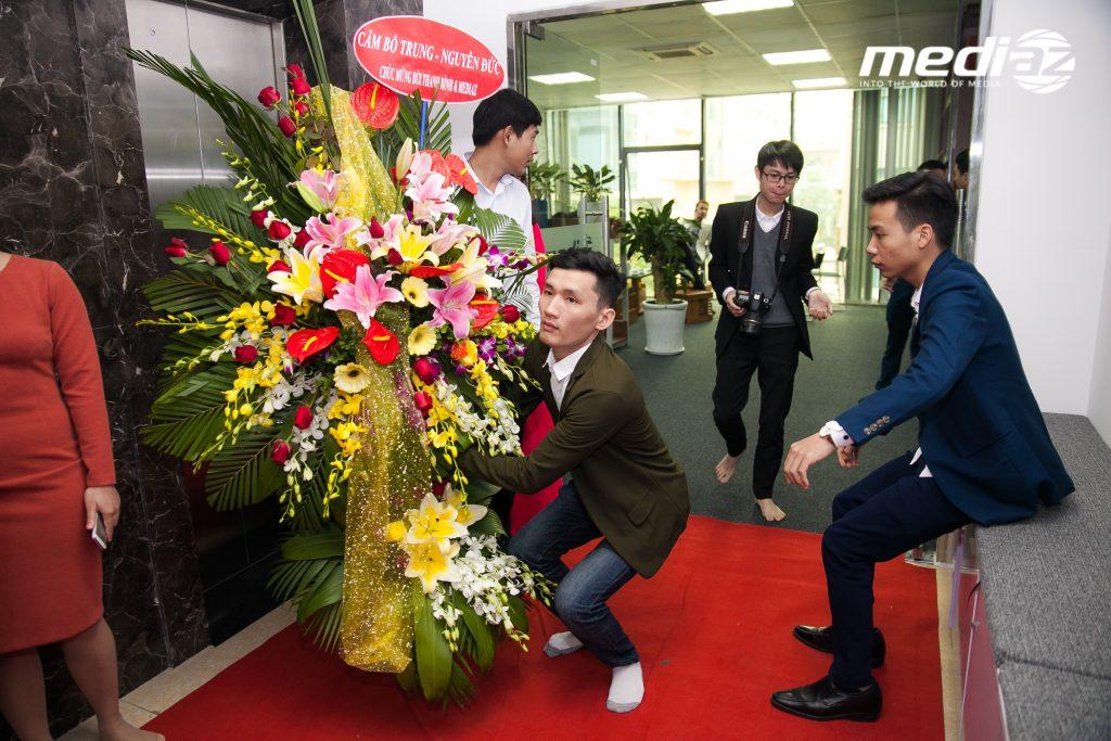 Photo 18/01/2017 - MediaZ khai trương Văn Phòng mới tại Hà Nội 8