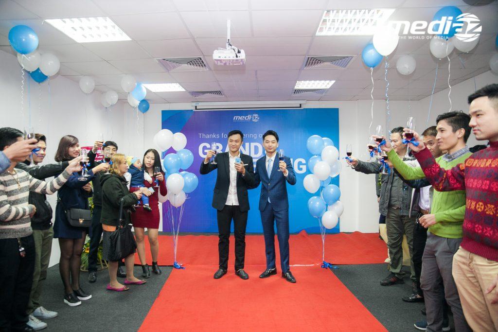 Photo 18/01/2017 - MediaZ khai trương Văn Phòng mới tại Hà Nội 15