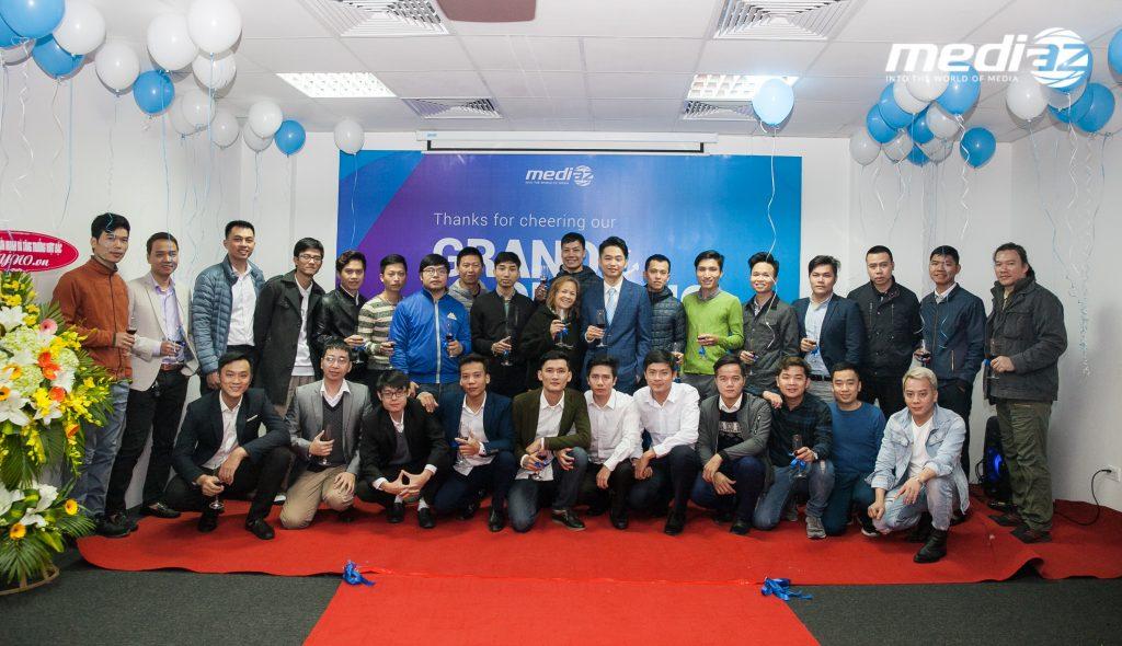Photo 18/01/2017 - MediaZ khai trương Văn Phòng mới tại Hà Nội 19