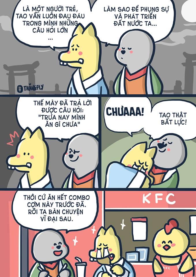 #truanayangi #combo #KFC #ngontuyet #thangfly