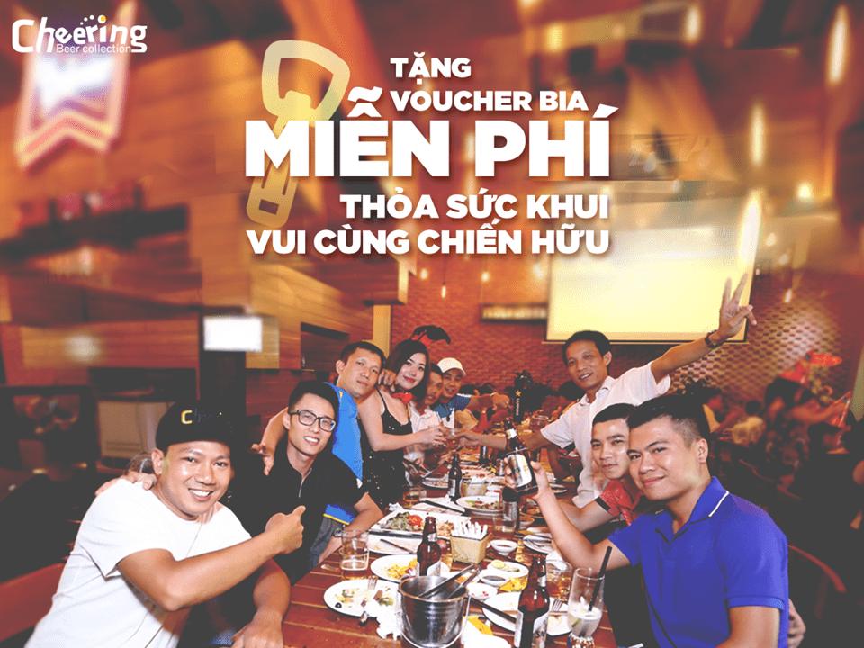 #cheeringbeer #biatuoimienphi #10vanbiatuoi #hequada