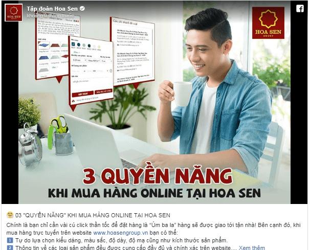 """03 """"QUYỀN NĂNG"""" KHI MUA HÀNG ONLINE TẠI HOA SEN"""
